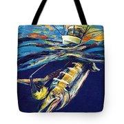 Marlin Catch Tote Bag