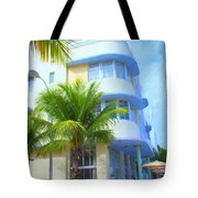 Marlin Hotel Side View Tote Bag