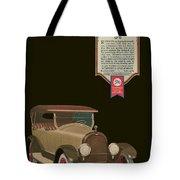 Marmon 34  - Vintage Poster Tote Bag