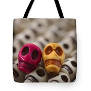 Maroon And Gold Tote Bag by Mike Herdering