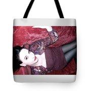 Marooned - Self Portrait Tote Bag