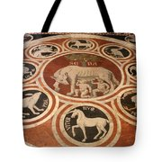 Marple Floor - Cathedral Siena Tote Bag
