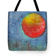Mars On Black Tote Bag