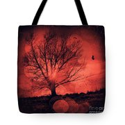 Mars Tree Tote Bag