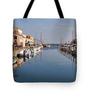 Marseillan Harbour Tote Bag