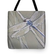 Marsh Dragonfly Tote Bag