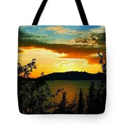 Marsh Lake - Yukon Tote Bag