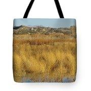 Marsh Lands In Wildlife Refuge Tote Bag