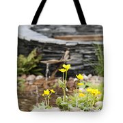 Marsh Marigolds Tote Bag