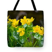 Marsh Marigolds Tote Bag