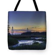Marsh To Bridge Tote Bag
