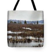 Marsh Tones Tote Bag