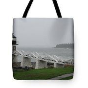 Marshall Point Light Station - Maine Tote Bag