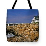 Marshall Point Lighthouse Complex Tote Bag