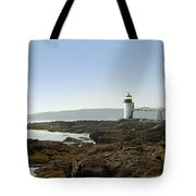 Marshall Point Lighthouse - Panoramic Tote Bag