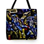 Marshawn Lynch Crotch Grab Tote Bag