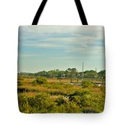 View Of St. Augustine's Cross Tote Bag