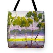 Marshlands Murray River Red River Gums Tote Bag