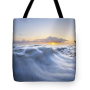 Marshmallow Tide Tote Bag