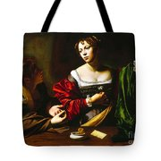Martha And Mary Magdalene Tote Bag