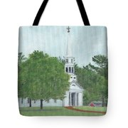 Martha Mary Chapel Tote Bag by Cliff Wilson