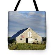 Martha's Vineyard Barn Tote Bag