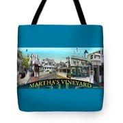 Martha's Vineyard Collage Tote Bag