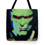 Martian Manhunter - A Close Encounter Tote Bag