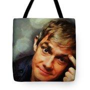 Martin Freeman Tote Bag