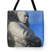 Martin Luther King Jr Monument Detail Tote Bag