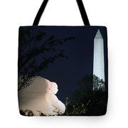 Martin Luther King Memorial Tote Bag