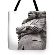Martin Luther King Memorial Statue Tote Bag