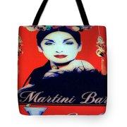 Martini Bar Tote Bag