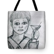 Martini Girl Tote Bag