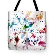 Martini Watercolor  Tote Bag