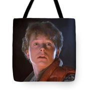 Marty Mcfly Tote Bag by Paul Tagliamonte