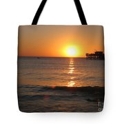 Marvelous Gulfcoast Sunset Tote Bag