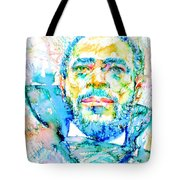 Marvin Gaye - Portrait Tote Bag