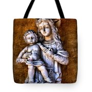 Mary And Jesus Tote Bag