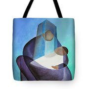 Mary And Messiah Tote Bag