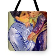 Mary Cassatt Helene De Septeuil In Watercolor Tote Bag