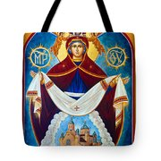 Mary In Red Tote Bag