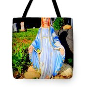 Mary In Sunlight Tote Bag