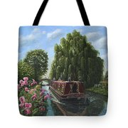 Mary Jane Chesterfield Canal Nottinghamshire Tote Bag