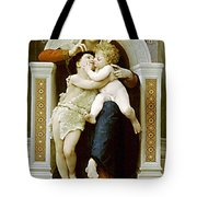Mary Jesus And John The Baptist Tote Bag