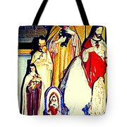 Mary Joseph And Jesus Vintage Religious Catholic Statues Patron Saints And Angels Cb Spandau Quebec Tote Bag