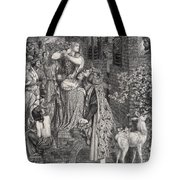 Mary Magdalene At The Door Of Simon Tote Bag