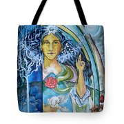 Mary Magdalene Watercolor Tote Bag