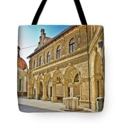 Mary Of Bistrica Shrine Architecture  Tote Bag