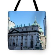 Mary Queen Of The World Cathedral Tote Bag